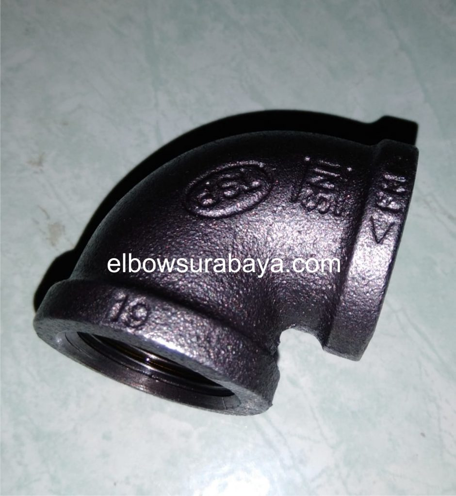 elbow drat black steel surabaya