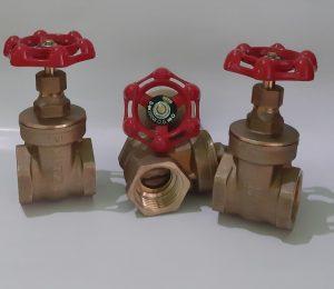 gate valve drat brass kitz